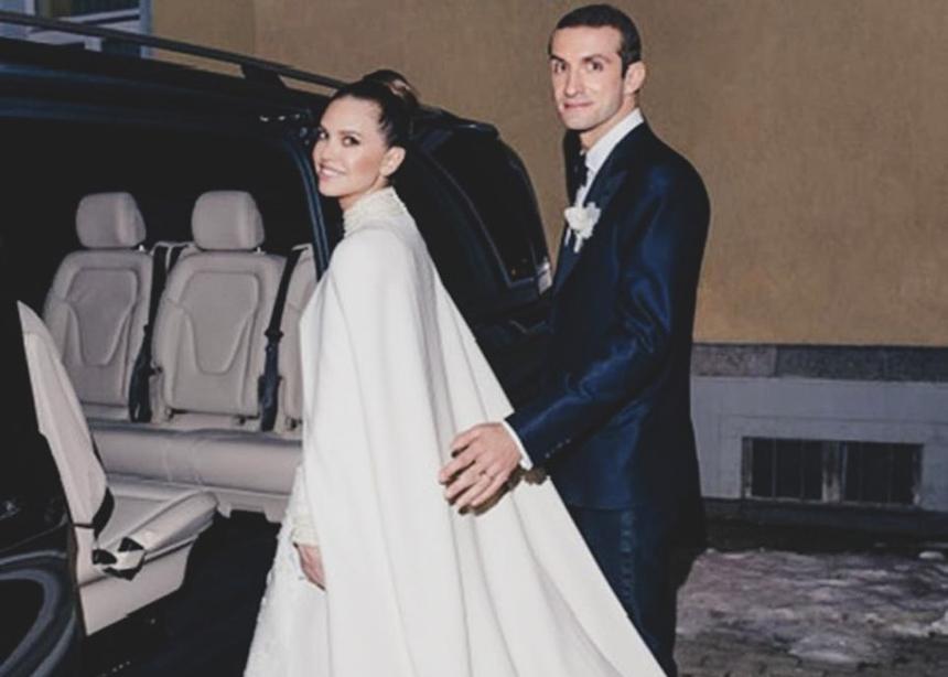 Σταύρος Νιάρχος: Η σύζυγός του Dasha, δημοσίευσε για πρώτη φορά,φωτογραφία του γάμου τους!