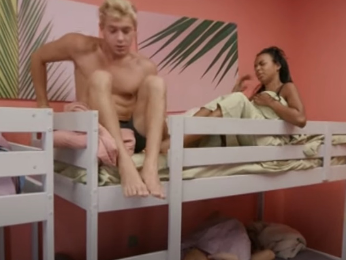 GNTM: Έντουαρντ και Ρασέλ  κοιμήθηκαν μαζί – Είναι αυτή η επιβεβαίωση της σχέσης τους;