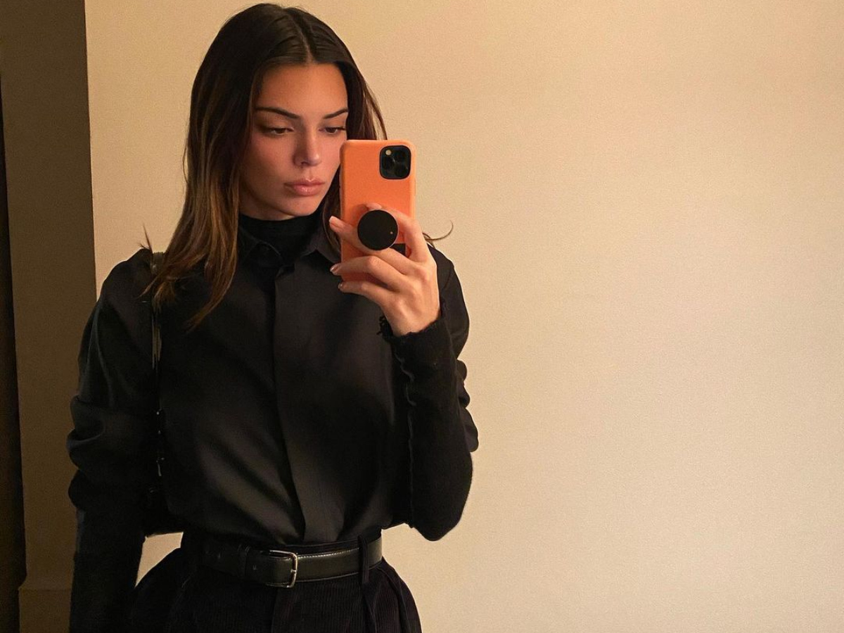 Total black: Μαθήματα styling από την Kendall Jenner