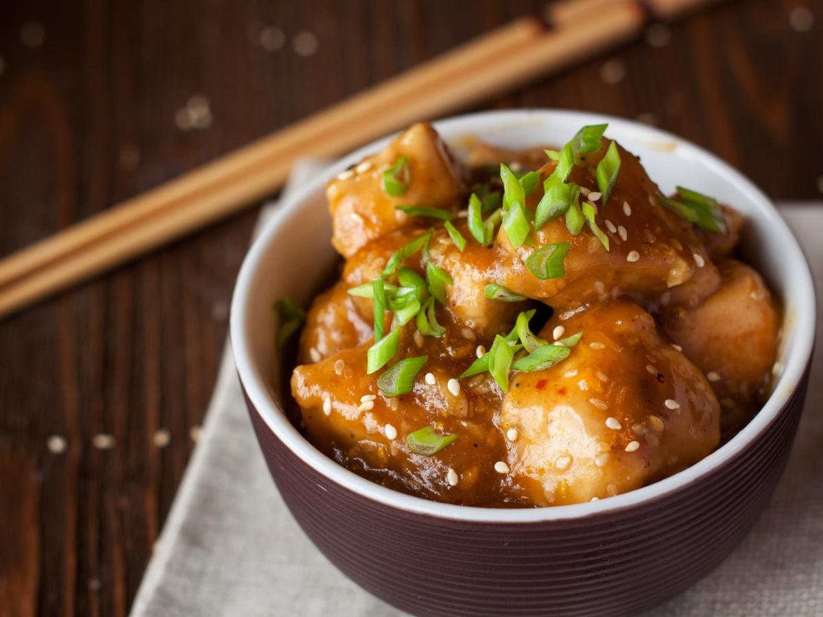 Συνταγή για κινέζικο κοτόπουλο με πορτοκάλι