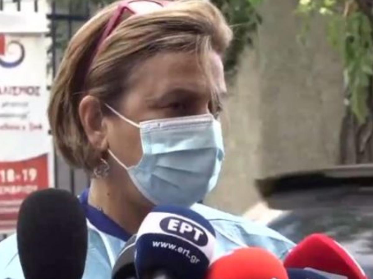 """Αναστασία Κοτανίδου: Τι είπε για την πορεία της υγείας του Αρχιεπικόπου Ιερώνυμου; """"Βρίσκεται σε στενή παρακολούθηση"""""""