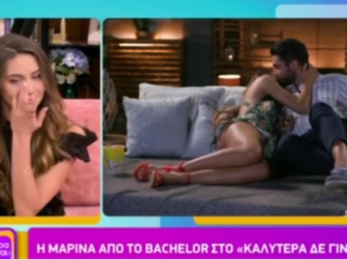 "The Bachelor – Μαρίνα: Με δάκρυα στα μάτια στην πρώτη εμφάνιση μετά από την αποχώρησή της ""Έχω κάνει αρκετά λάθη"" (video)"