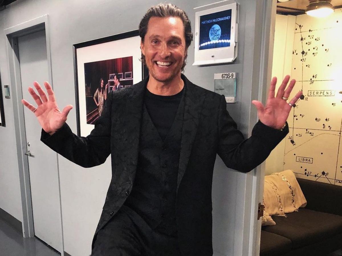 """Matthew McConaughey: Δες το σπάνιο βίντεο με τα παιδιά του να του τραγουδούν το """"Happy Birthday""""!"""