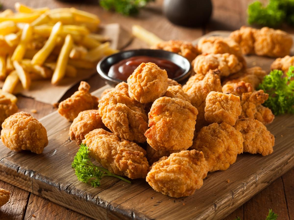 Συνταγή για τρυφερά nuggets κοτόπουλου