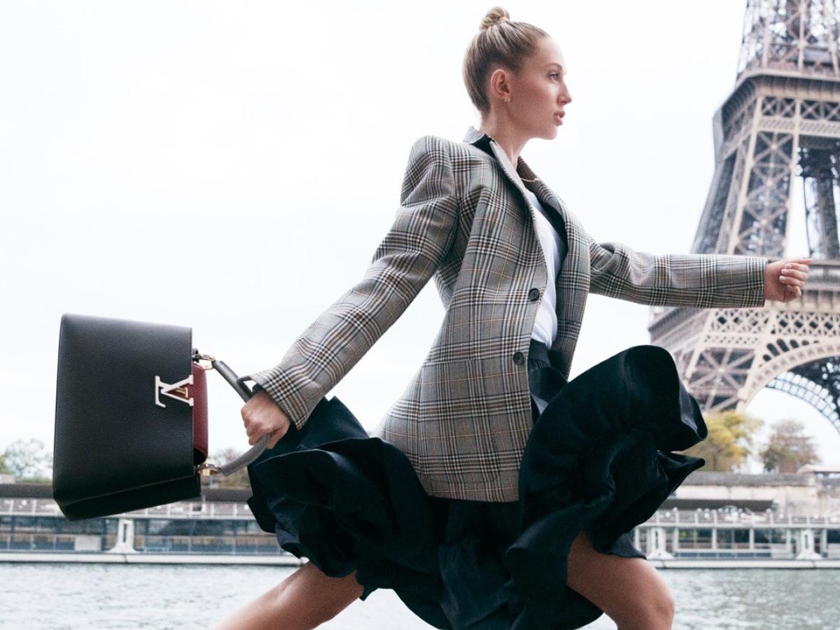 H πριγκίπισσα Μαρία Ολυμπία φωτογραφίζεται για την νέα καμπάνια του οίκου Louis Vuitton