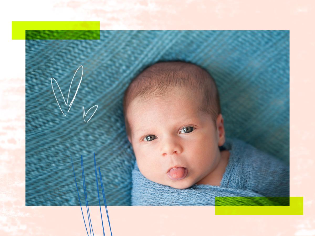 Το μωρό μπαινοβγάζει συχνά τη γλώσσα του. Τι μπορεί να φταίει; Είναι ανησυχητικό;
