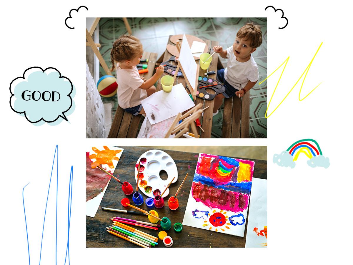 6 τρόποι να αυξήσεις τη δημιουργικότητα του παιδιού σου, όσο είστε στο σπίτι