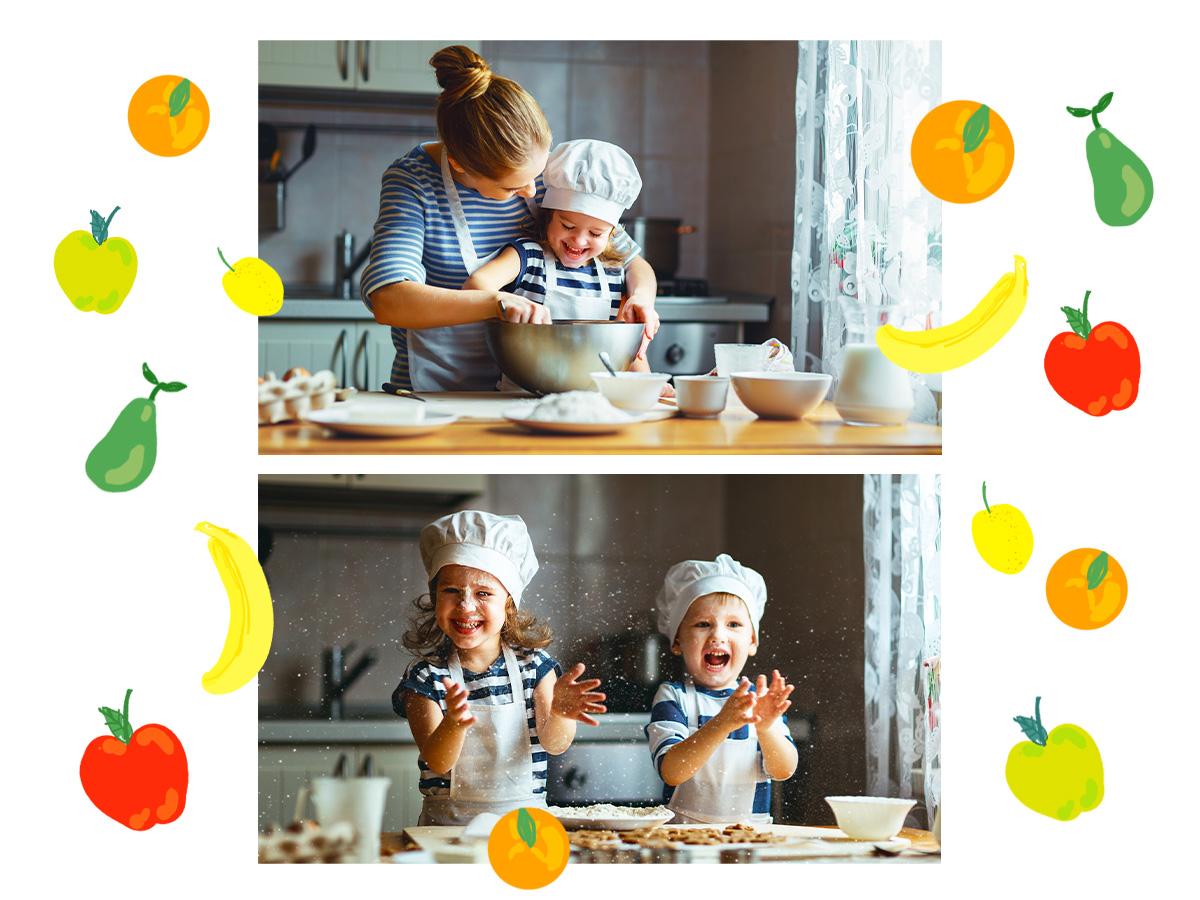 Στην κουζίνα μαζί! 5 συνταγές για γλυκά με φρούτα που θα ξετρελάνουν το μικρό σου