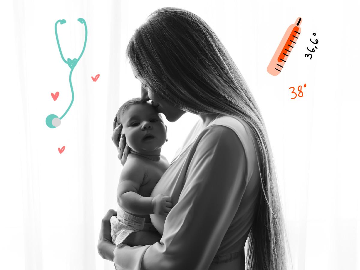 Νεογέννητο: Οι πιο σοβαροί λόγοι για να καλέσεις τον παιδίατρο