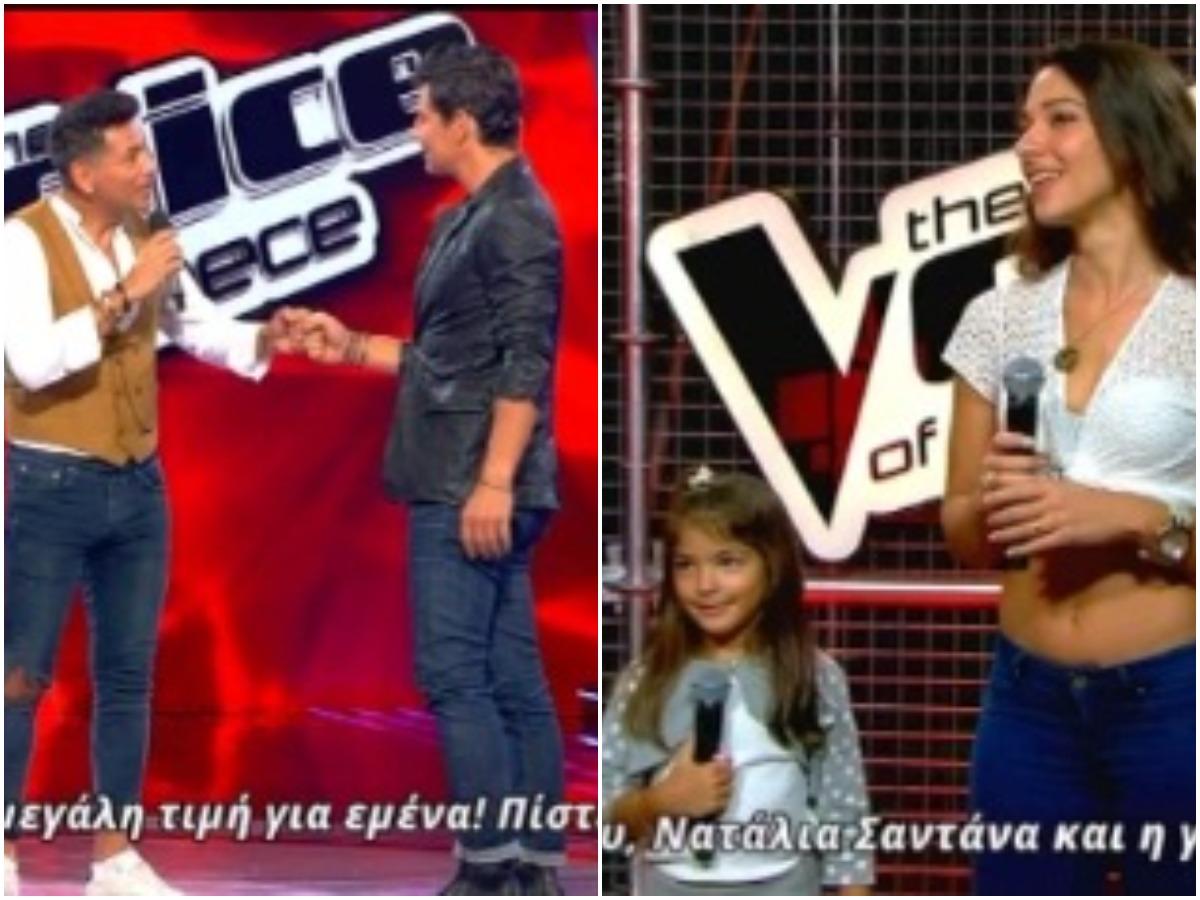 The Voice: Δεν θα πιστέψεις με ποιον μπέρδεψε τον Σάκη Ρουβά η κόρη διαγωνιζόμενου (video)