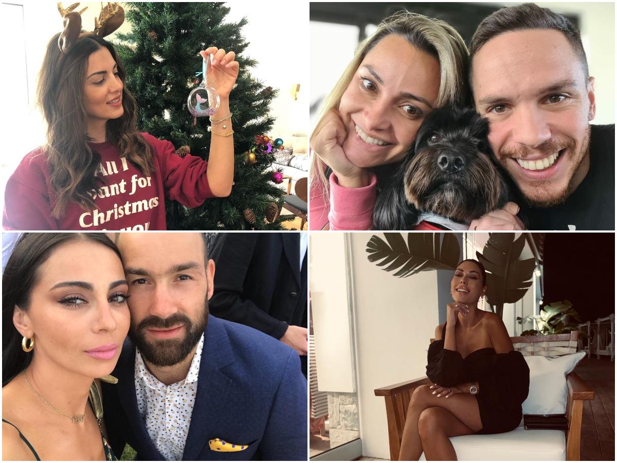 It's Christmas time: Οι Έλληνες celebrities δεν σταματούν να στολίζουν χριστουγεννιάτικα δέντρα! (pics)