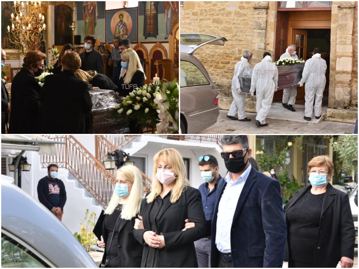 Κλεάνθης Τσιρώνης: Θλίψη στην κηδεία του στον Ελαιώνα – Λύγισε η σύζυγός του