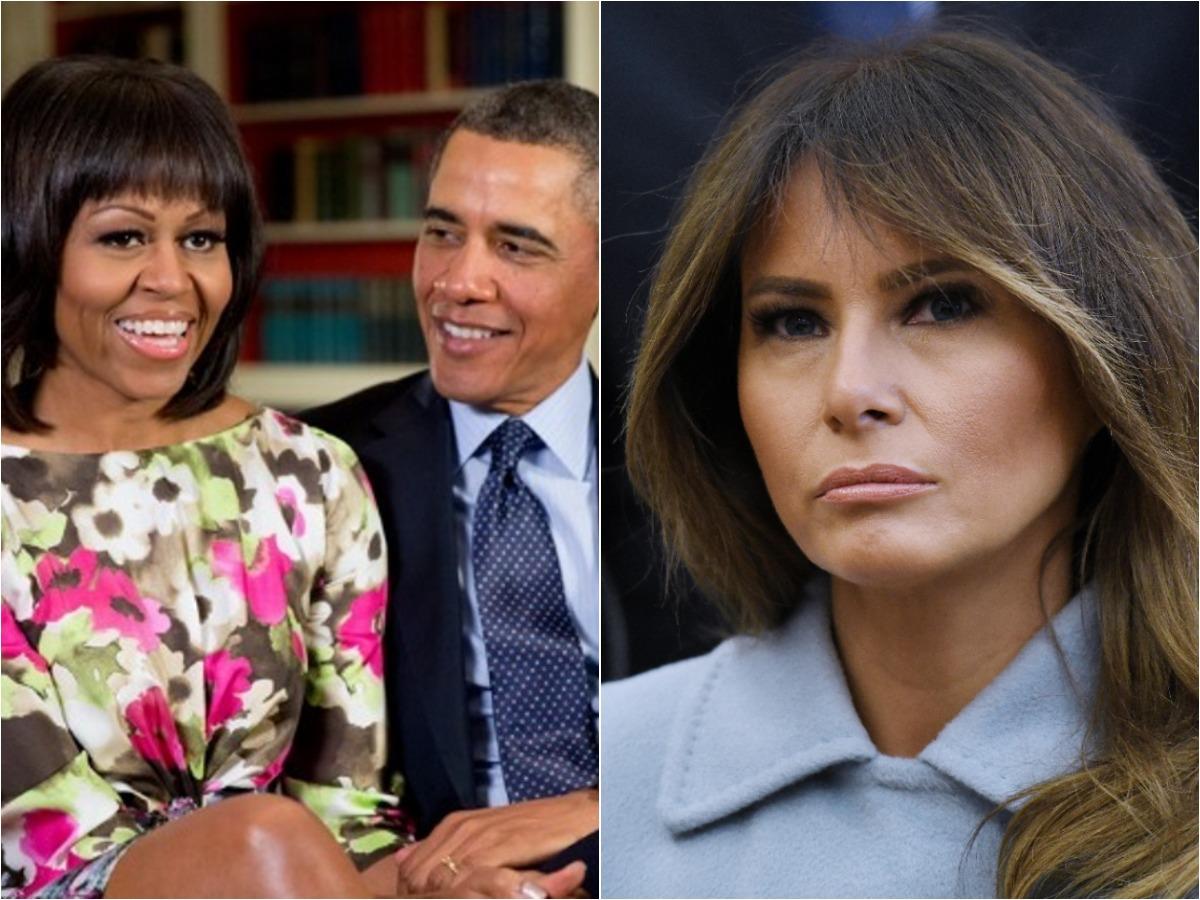 """Michelle Obama εναντίον Melania Trump – Η ανάρτηση """"καταπέλτης""""! """"Άφησα τον θυμό μου στην άκρη και την καλωσόρισα στον Λευκό Οίκο"""""""