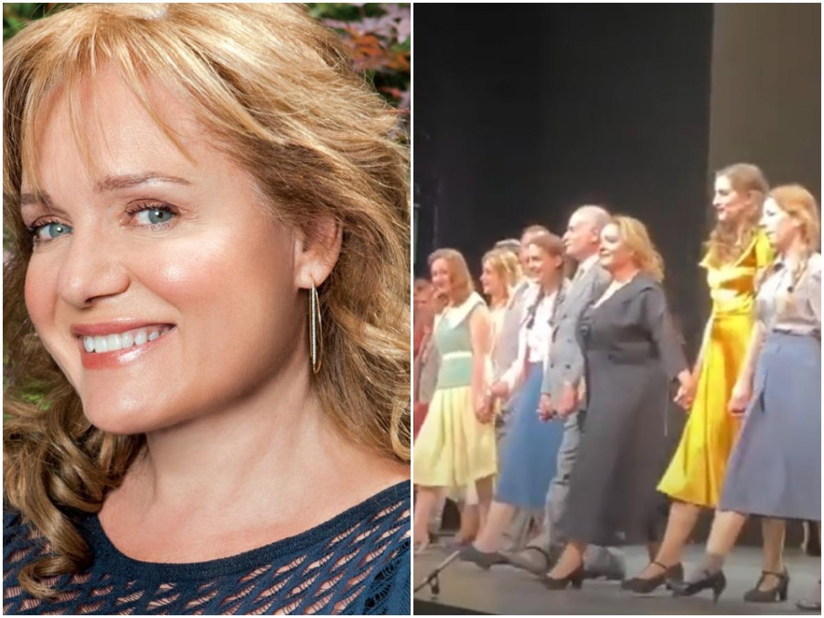 Μαρία Καβογιάννη: Αποχαιρετά με δάκρυα στα μάτια το κοινό στην τελευταία παράσταση, πριν από το οριστικό κλείσιμο των θεάτρων (video)