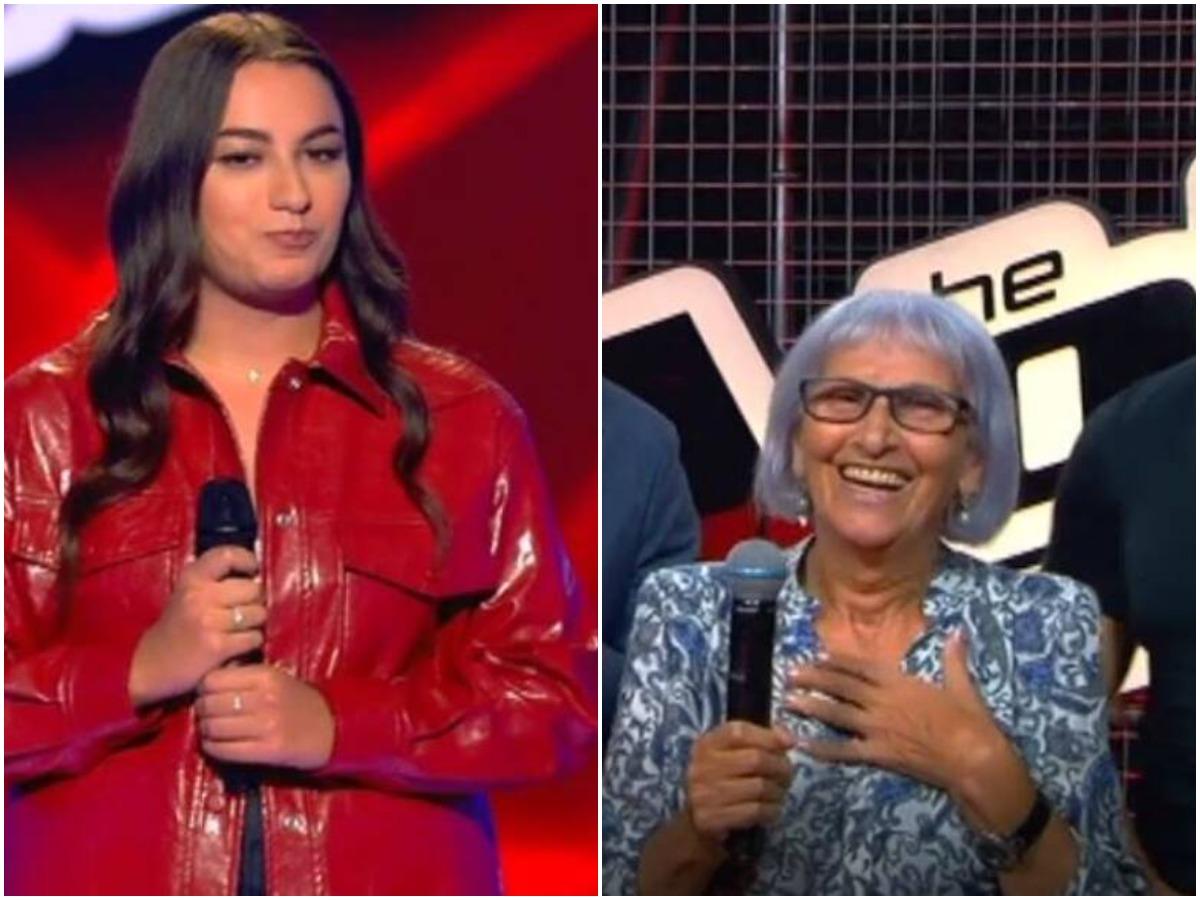 The Voice: Πήγε στο show με μάνατζερ τη γιαγιά της! Τα κατάφερε; (video)
