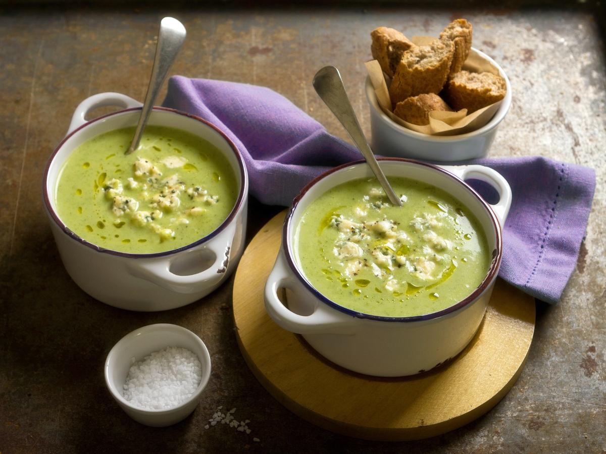 Συνταγή για κρεμώδη σούπα με μπρόκολο