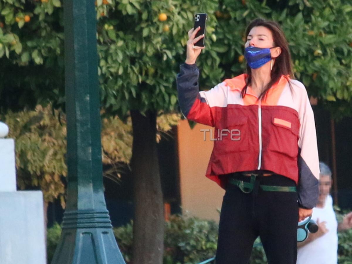 Μαρίνα Βερνίκου: Μετακίνηση 6 στο Ζάππειο! Βόλτα με τον τετράποδο φίλο της (pics)