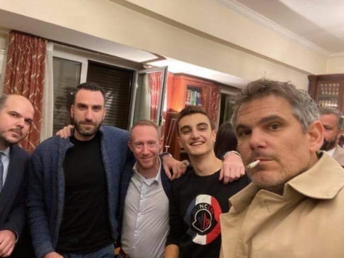 Χαμός από το γενέθλιο πάρτι του Δημήτρη Βερβεσού εν μέσω lockdown! – Τι απαντά ο πρόεδρος του ΔΣΑ