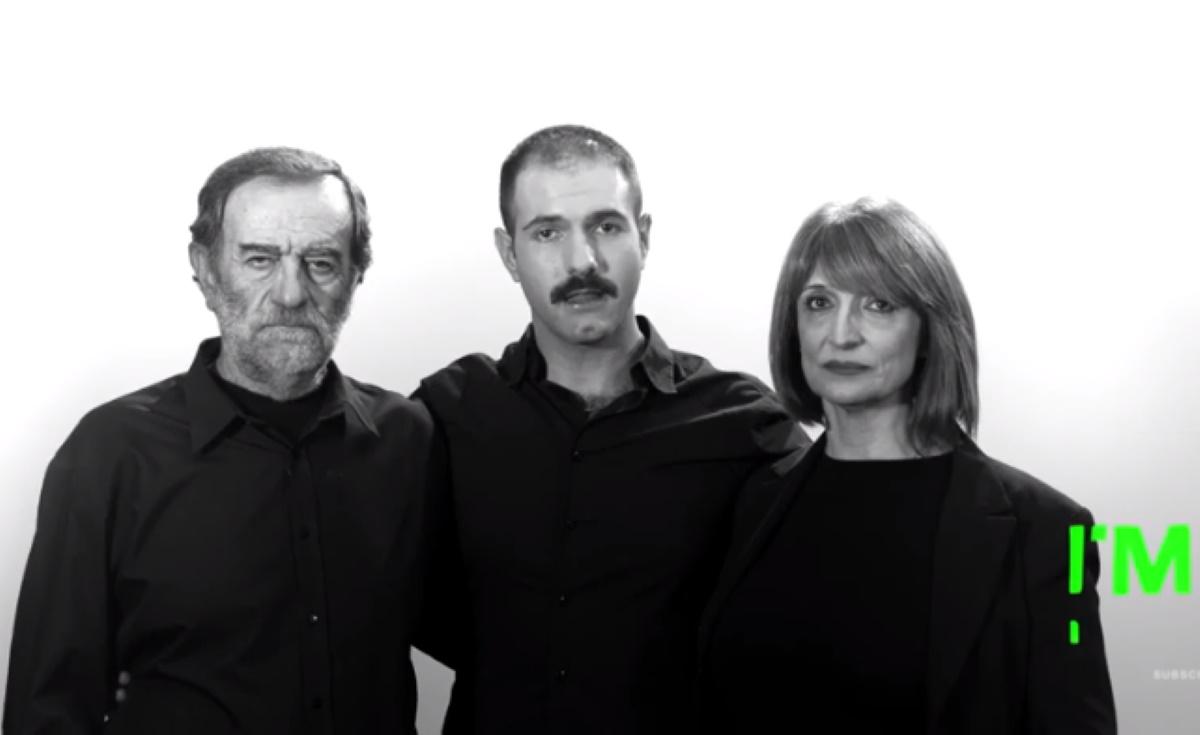 """Ο Γιώργος Καρκάς, στο """"Ι'm Positive""""με τους γονείς του! Μιλά δημόσια για την αποδοχή από την οικογένειά του και την κοινωνία"""