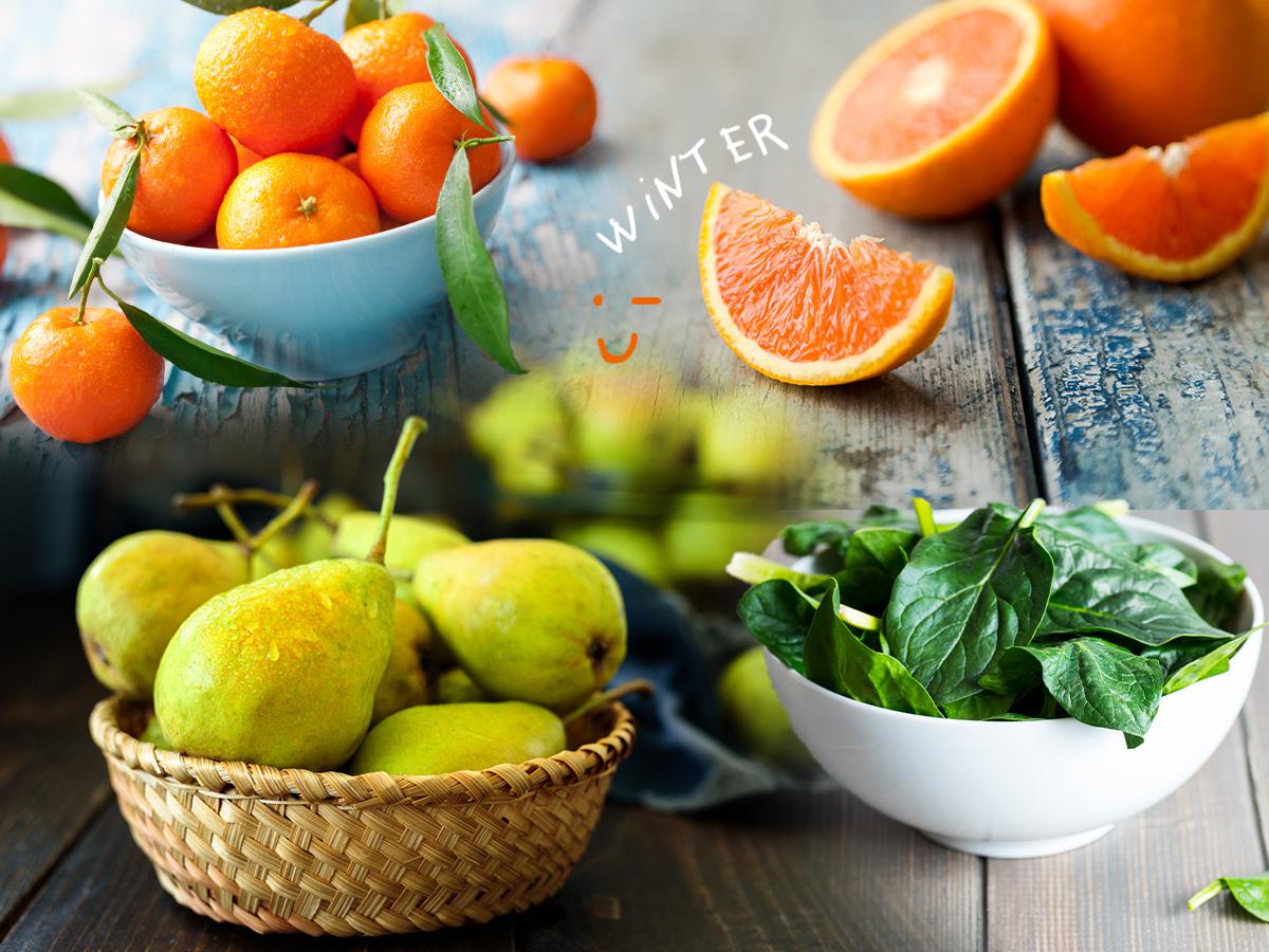 Τα φρούτα και λαχανικά του χειμώνα που δεν πρέπει να λείπουν από το πιάτο σου