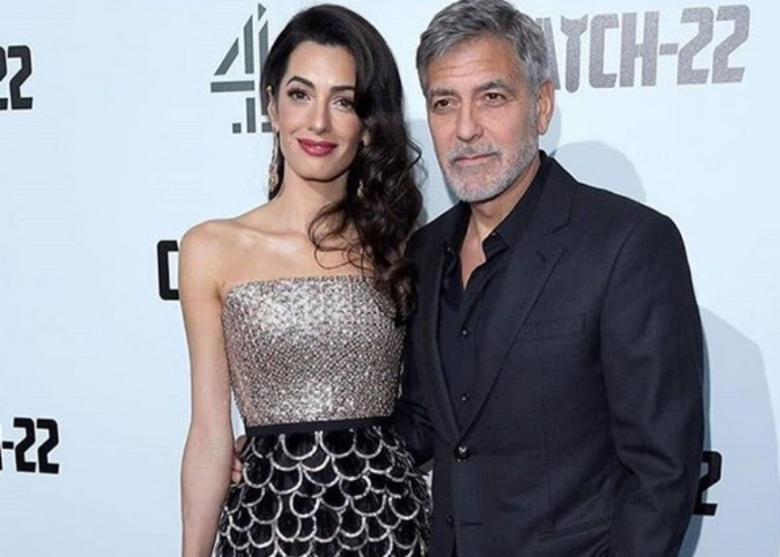 George Clooney: Κι ενώ οι φήμες περί χωρισμού οργιάζουν, εκείνος δηλώνει τυχερός που έχει δίπλα του την Amal!