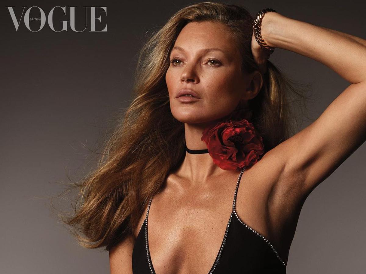 Κate Moss: 28 χρόνια μετά το πρώτο της εξώφυλλο ποζάρει στην Vogue και είναι εκθαμβωτική