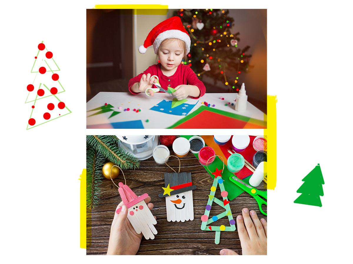 Χριστουγεννιάτικες χειροτεχνίες: Μερικές ιδέες που θα ενθουσιάσουν το μικρό σου