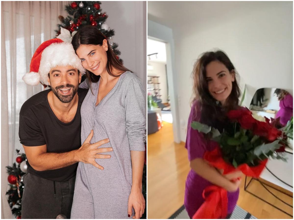 Σάκης Τανιμανίδης: Η πιο γλυκιά έκπληξη στην εγκυμονούσα σύζυγό του, Χριστίνα Μπόμπα για τη γιορτή της
