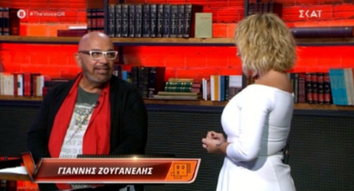 The Voice: Η Ελεωνόρα Ζουγανέλη συνάντησε τον πατέρα της, Γιάννη Ζουγανέλη στα knockouts (video)