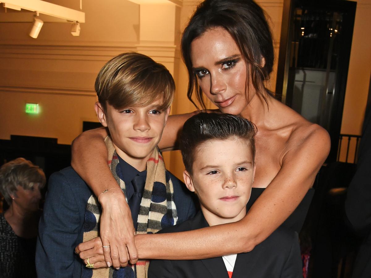O δεύτερος γιός της Victoria Beckham, Romeo κάνει το ντεμπούτο του στην μόδα