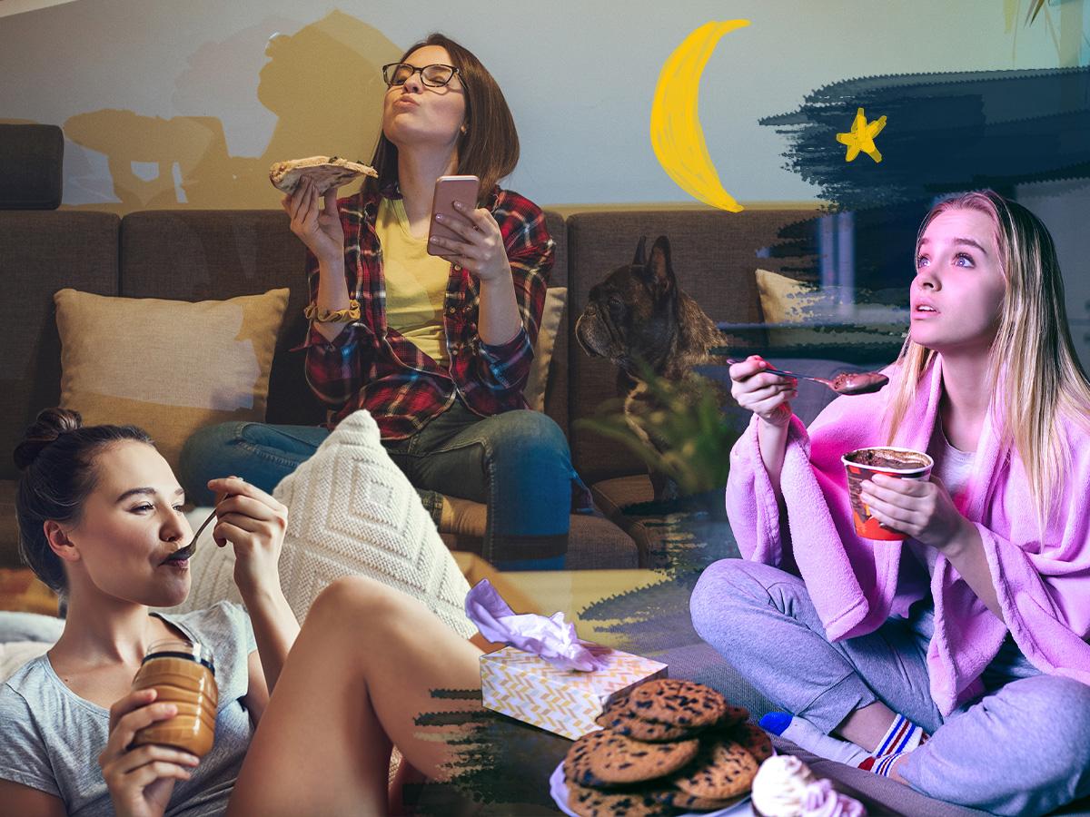 Νυχτερινή υπερφαγία: Οι συμβουλές της διαιτολόγου για να νικήσεις την ατελείωτη πείνα που νιώθεις το βράδυ