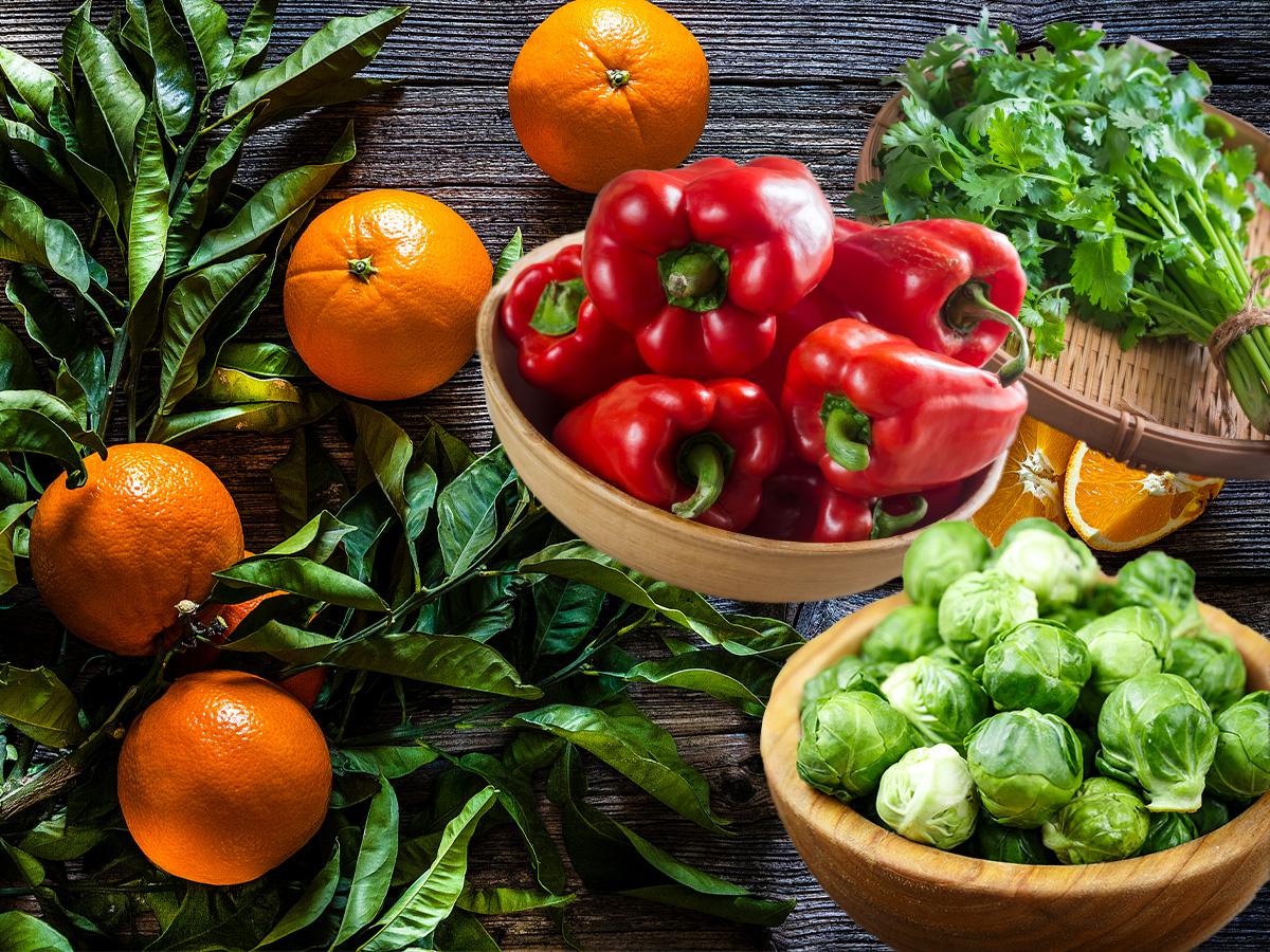 10 τροφές πλούσιες σε βιταμίνη C