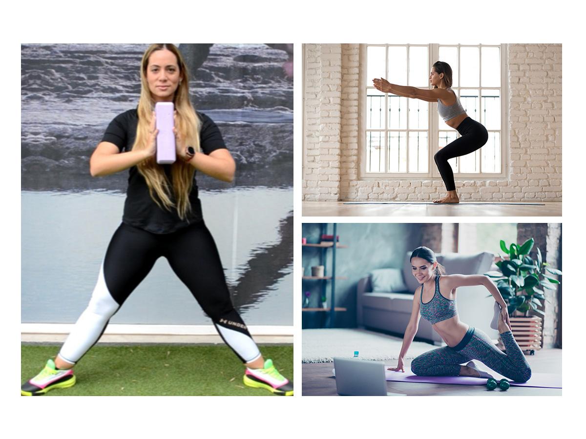 Γυμναστική στο σπίτι: 5 ασκήσεις για τέλειο σώμα με ένα ειδικό τουβλάκι