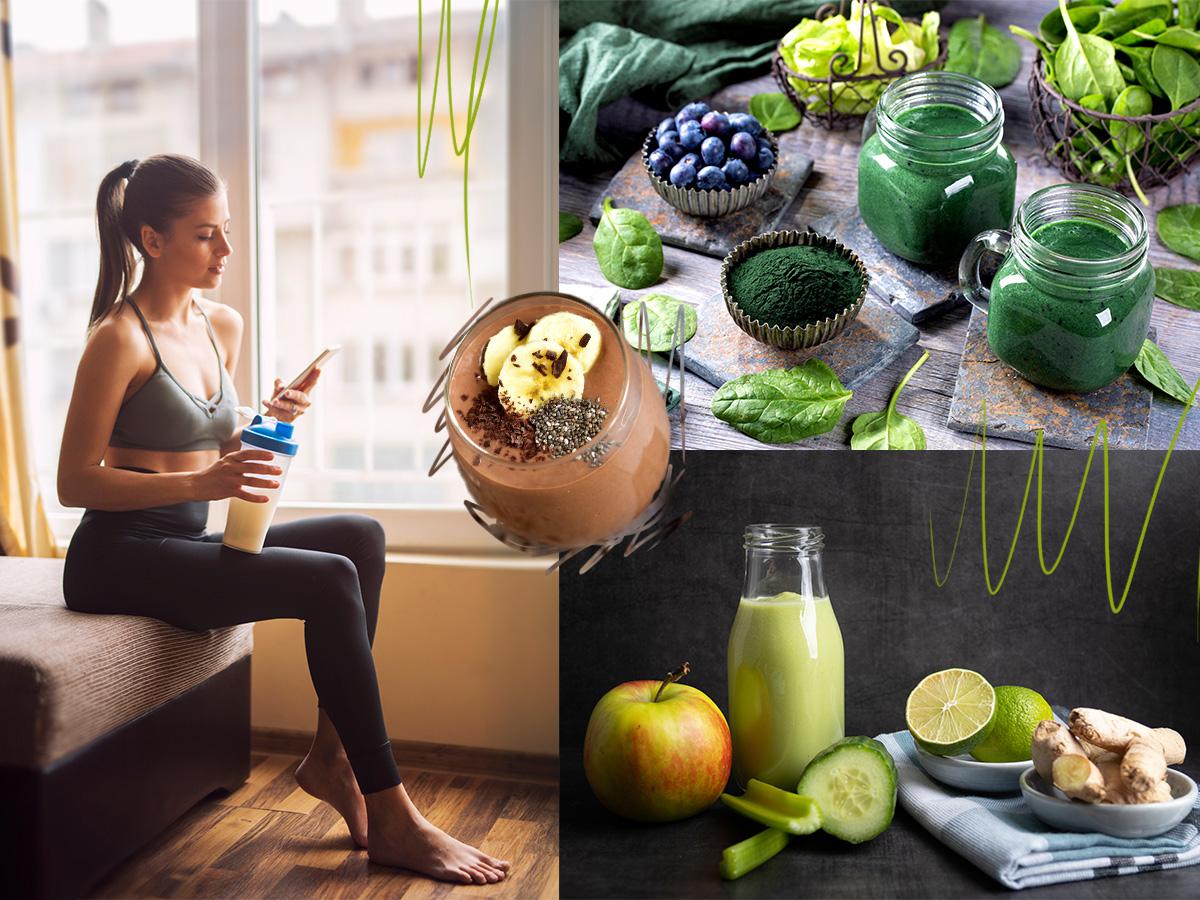 Μετά τη γυμναστική: Τα smoothies που θα σε βοηθήσουν να κάψεις ακόμα περισσότερες θερμίδες