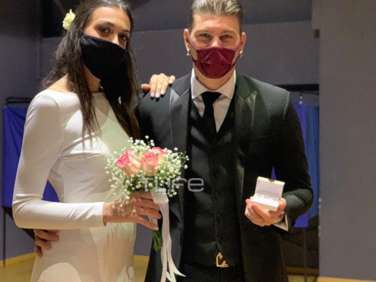 Στηβ Μιλάτος: Παντρεύτηκε την αγαπημένη του Άννα Παπαϊωάννου – Οι φωτογραφίες του TLIFE