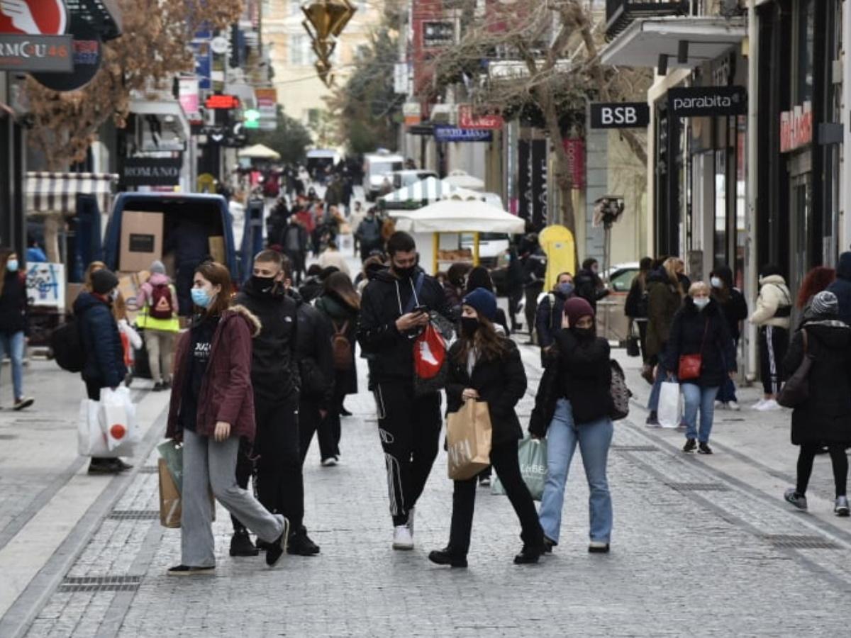 Πρεμιέρα σήμερα για το λιανεμπόριο – Φωτορεπορτάζ του TLIFE στο κέντρο της Αθήνας