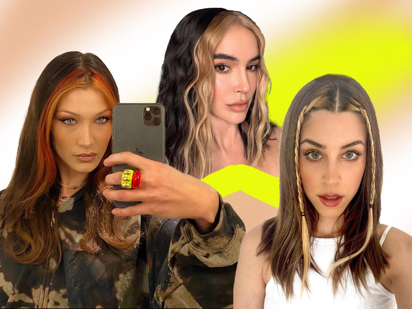 90's colourblocking: θα είναι ένα από τα μεγαλύτερα hair trends της άνοιξης και σου το μαθαίνουμε από τώρα