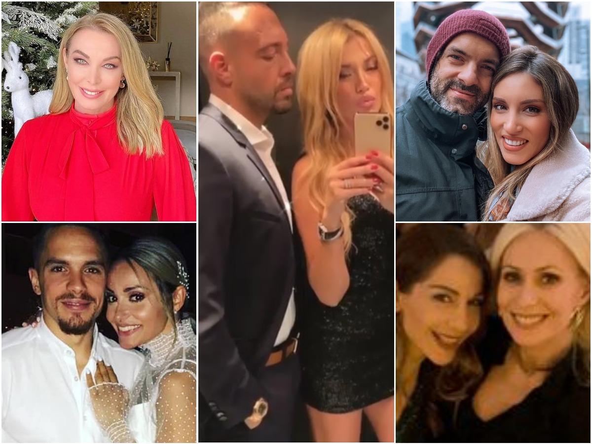 Πρωτοχρονιά 2021: Πώς άλλαξαν τον χρόνο οι celebrities; Φωτογραφίες και βίντεο