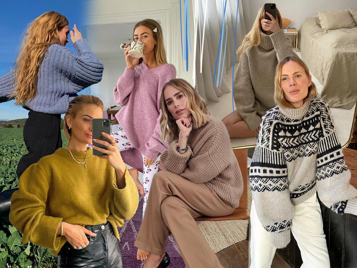 Πουλόβερ: Το ρούχο που φοράς περισσότερο αυτή την εποχή μέσα και έξω από το σπίτι