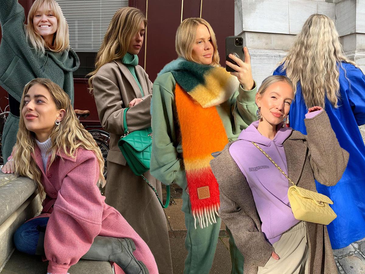 Βάλε χρώμα στα χειμερινά σου σύνολα και άλλαξε την διάθεση σου με μία κίνηση
