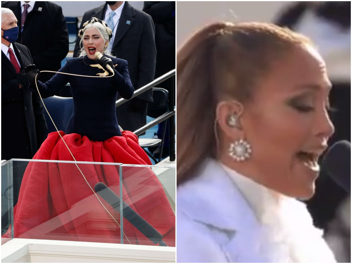 Lady Gaga – Jennifer Lopez: Τραγούδησαν στην ορκωμοσία του Τζο Μπάιντεν