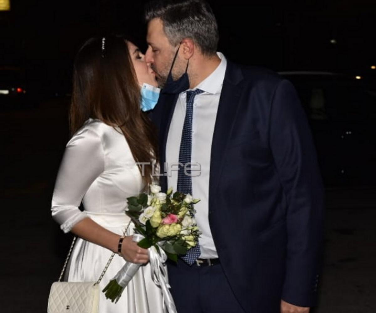 Γιάννης Καλλιάνος – Χάρις Δαμιανού: Οι πρώτες δηλώσεις στο T-live μετά τον πολιτικό γάμο τους