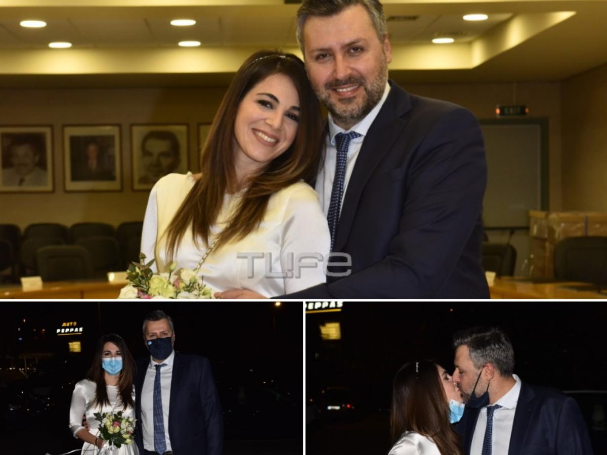 Γιάννης Καλλιάνος – Χάρις Δαμιανού: Το φωτογραφικό άλμπουμ του γάμου τους