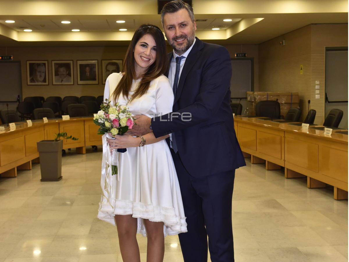 Γιάννης Καλλιάνος – Χάρις Δαμιανού: Οι πρώτες φωτογραφίες από τον γάμο τους