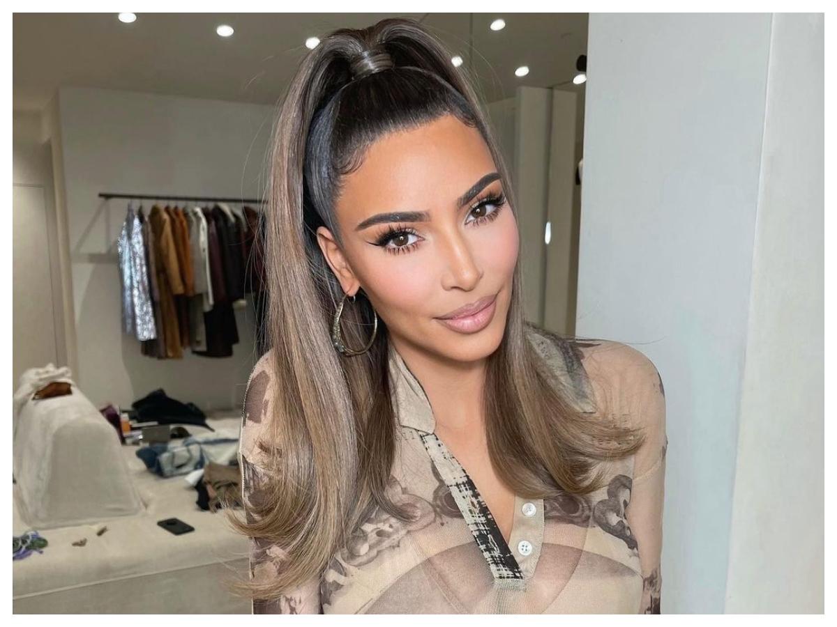 Είχαμε καιρό να δούμε την Kim Kardashian χωρίς μακιγιάζ