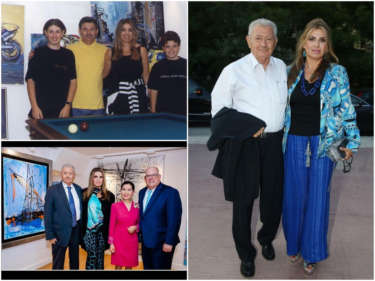 Μίνα Βαλυράκη: Η διεθνούς φήμης ζωγράφος που ήταν 30 χρόνια στο πλευρό του πρώην υπουργού που έφυγε από τη ζωή