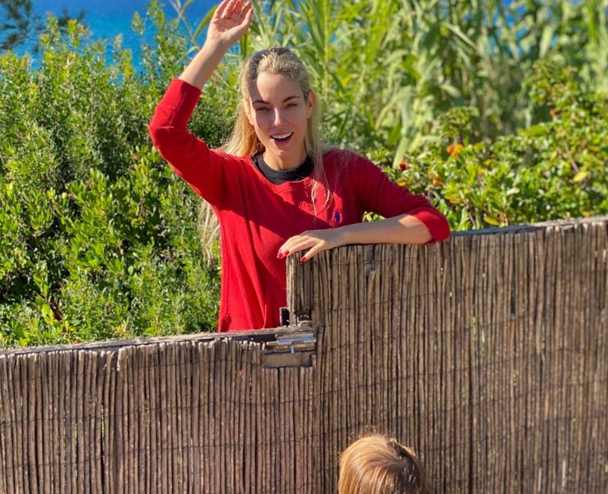 Δούκισσα Νομικού: Ο 2,5 ετών γιος της μπήκε στη θάλασσα μέσα στον χειμώνα