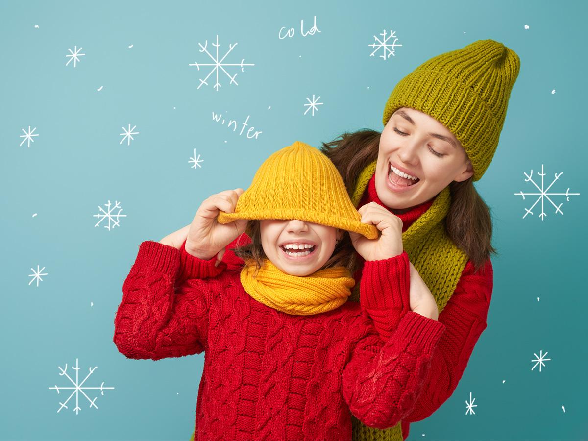 Πώς να ντύσεις το παιδί σου σωστά στο κρύο