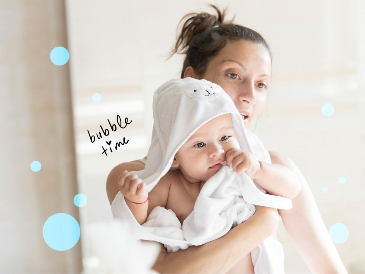 5 μυστικά για να κάνεις το πρώτο μπάνιο του μωρού με ασφάλεια