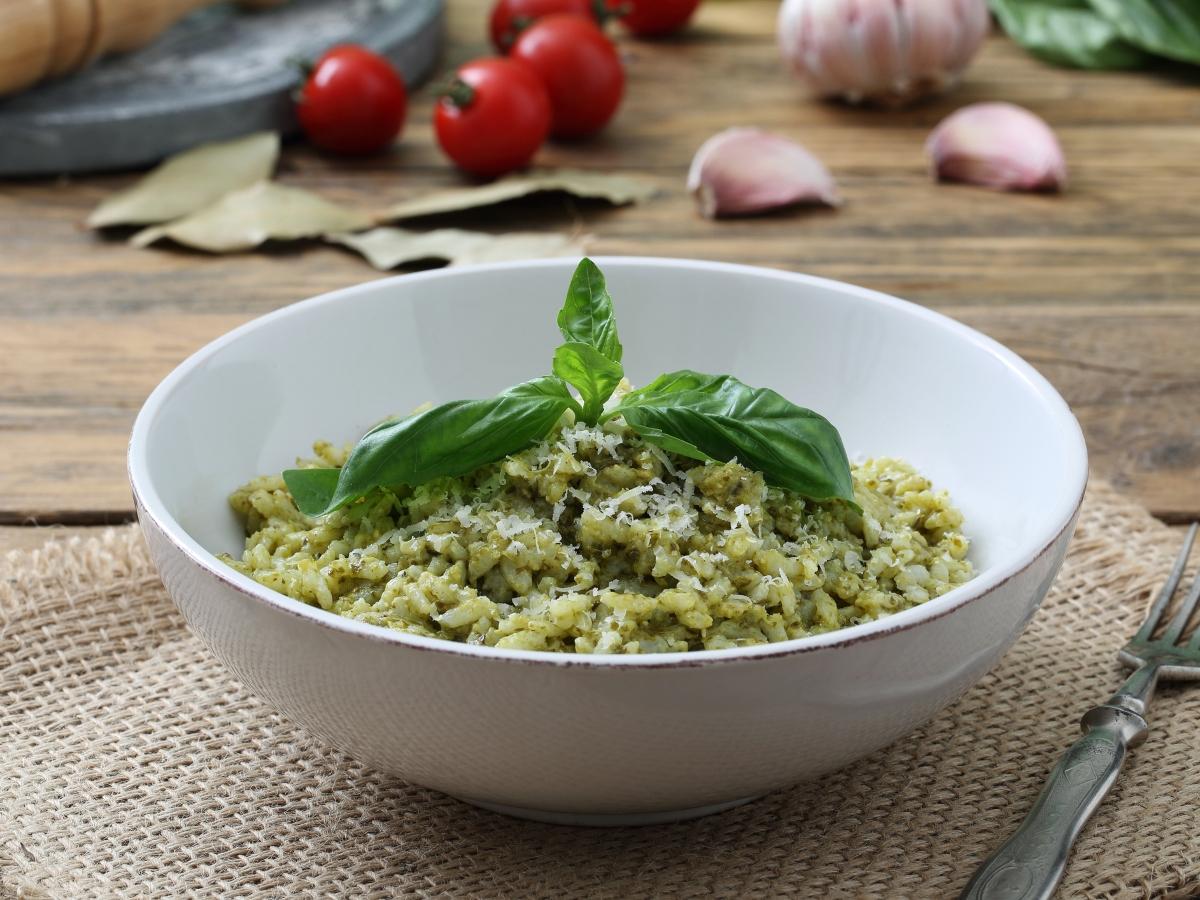 Συνταγή για ριζότο με σπανάκι και μπρόκολο